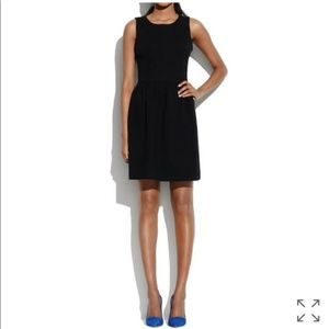 Madewell Black Afternoon Dress